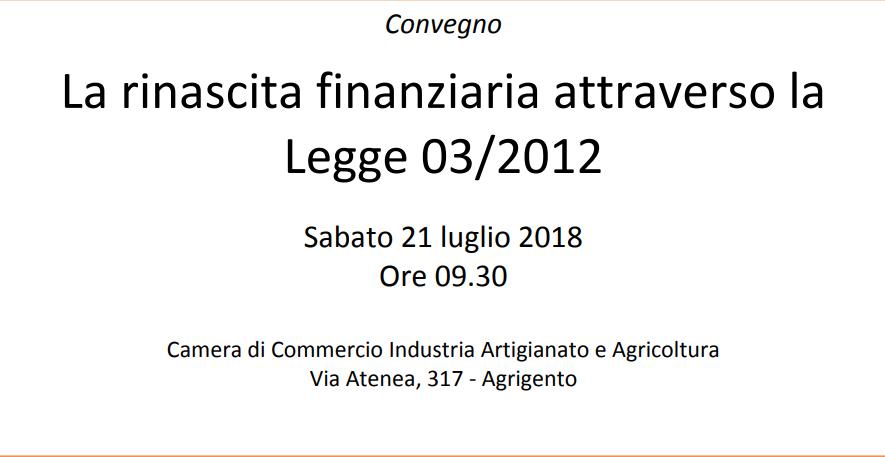 rinascita finanziariaconvegno 21Luglio2018