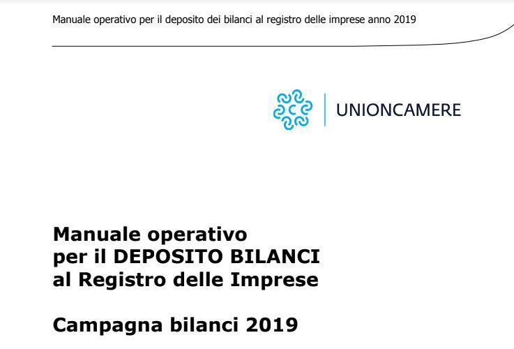manuale operativo bilanci2109